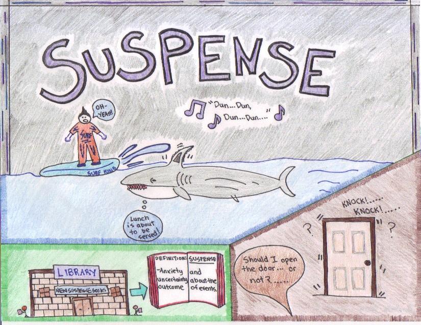 Literary terms suspense