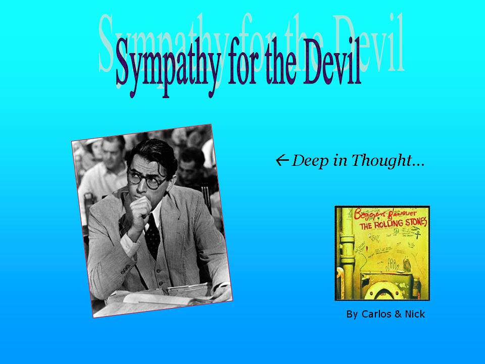 Image result for atticus finch is the devil